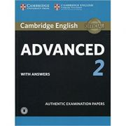 Cambridge English: Advanced 2 - Student's Book Authentic Examination Papers (with answers and Audio)