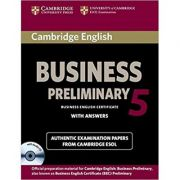 Cambridge English Business 5 - Student's Book (Answers and CD)