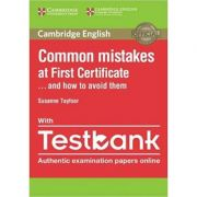 Cambridge English: Common Mistakes at First Certificate and How to Avoid Them Paperback (with Testbank)