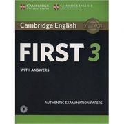 Cambridge English: First 3 - Student's Book (with Answers and Audio)