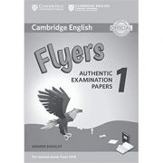 Cambridge English: Flyers 1 - Authentic Examination Papers (Answer Booklet)