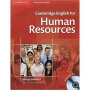 Cambridge: English for Human Resources - Student's Book with Audio (2x CDs)