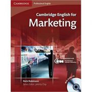 Cambridge: English for Marketing - Student's Book (with Audio CD)