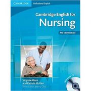 Cambridge: English for Nursing Pre-intermediate - Student's Book (with Audio CD)