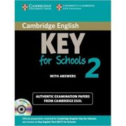 Cambridge: English Key for Schools 2 - Self-study Pack (Student's Book with Answers and Audio CD)