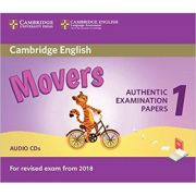 Cambridge English: Movers 1- Authentic Examination Papers from Cambridge English (2x Audio CDs)