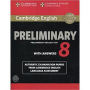 Cambridge: English Preliminary 8 - Student's Book Pack (Student's Book with Answers and 2x Audio CDs)