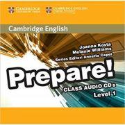Cambridge English: Prepare! - Level 1 Class (Audio 2x CDs)