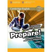 Cambridge English: Prepare! Level 1 - Student's Book and Online Workbook