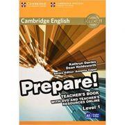 Cambridge English: Prepare! Level 1 - Teacher's Book (with DVD)