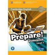 Cambridge English: Prepare! Level 1 - Workbook with Audio