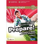 Cambridge English. Prepare! Level 5 - Student's Book (and Online Workbook with Testbank)
