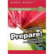 Cambridge English: Prepare! Level 5 - Teacher's Book (with DVD and Teacher's Resources Online)
