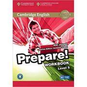 Cambridge English: Prepare! Level 5 - Workbook (Book and CD)