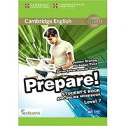 Cambridge English: Prepare! Level 7 - Student's Book (and Online Workbook with Testbank)
