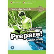 Cambridge English: Prepare! Level 7 - Workbook (Book and CD)
