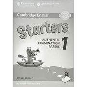 Cambridge English: Starters 1 - Authentic Examination Papers (Answer Booklet)