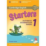 Cambridge English: Starters 1 - Student's Book (Authentic Examination Papers)
