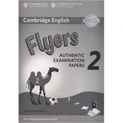 Cambridge English: Young Learners 2 - Flyers Authentic Examination Papers (Answer Booklet)