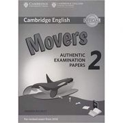 Cambridge English: Young Learners 2 Movers - Authentic Examination Papers (Answer Booklet)