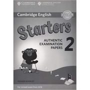 Cambridge English: Young Learners 2 Starters - Authentic Examination Papers (Answer Booklet)