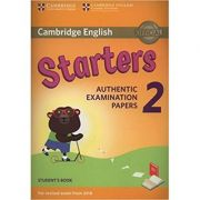 Cambridge English: Young Learners 2 Starters - Student's Book (Authentic Examination Papers)