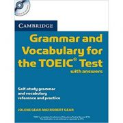 Cambridge Grammar and Vocabulary for the TOEIC - Test with Answers and 2x Audio CDs