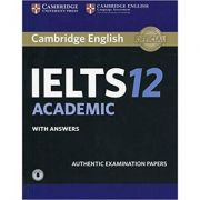 Cambridge: IELTS 12 Academic - Student's Book (with Answers and Audio)