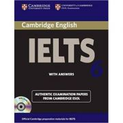 Cambridge: IELTS 6 - Self-study Pack: Examination Papers from University of Cambridge ESOL Examinations