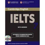Cambridge: IELTS 7 Self-study Pack (Student's Book with Answers and 2x Audio CDs)