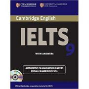 Cambridge: IELTS 9 - Self-study Pack (Student's Book with Answers and 2x Audio CDs)