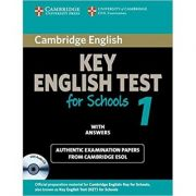 Cambridge: KET for Schools 1 - Self-study Pack (Student's Book with Answers and Audio CD)