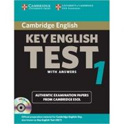 Cambridge: Key English Test 1 - Self Study Pack: Examination Papers from the University of Cambridge ESOL Examinations (KET Practice Tests)