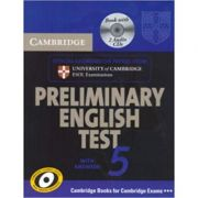 Cambridge: Preliminary English Test 5 - Self-study Pack (with Audio CD)