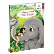Cartea Junglei. Colorez povestea