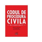Codul de procedura civila. Cu modificarile aduse prin Legea nr. 310/2018. Editia a 5-a actualizata la 5 februarie 2019 - Evelina Oprina, Dragos Bogdan, Cristian Paul Lospa