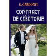 Contract de casatorie - Gardonyi Geza