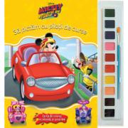 Disney - Mickey si pilotii de curse - Sa pictam cu pilotii de curse