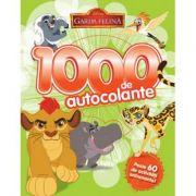 Disney: Garda Felina. 1000 De Autocolante. Peste 60 De Activitati Antrenante
