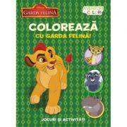 Aventuri in culori. Garda Felina. Coloreaza cu Garda felina. - Disney
