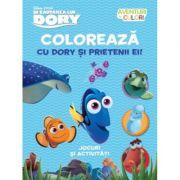 Aventuri in culori. In cautarea lui Dory. Coloreaza cu Dory si prietenii ei. - Disney