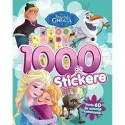 Regatul de gheata. 1000 de stickere. Peste 60 de activitati antrenante - Disney