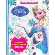 Disney: Regatul de gheata. Atelierul culorilor