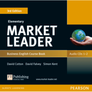 Market Leader 3rd Edition Elementary Coursebook (with DVD-ROM incl. Class Audio) - David Cotton