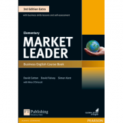 Market Leader 3rd Edition Extra Elementary Course Book + DVD-ROM - David Cotton