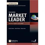 Market Leader 3rd Edition Extra Intermediate Course Book + DVD-ROM - Fiona Scott-Barrett