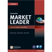 Market Leader 3rd Edition Intermediate Coursebook (with DVD-ROM incl. Class Audio) - David Cotton
