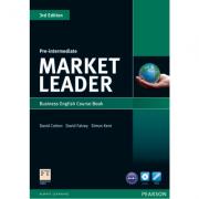 Market Leader 3rd Edition Pre-Intermediate Coursebook (with DVD-ROM incl. Class Audio) - David Cotto