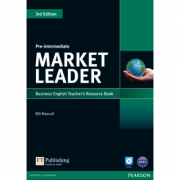 Market Leader 3rd Edition Pre-Intermediate Teachers Resource Book (with Test Master CD-ROM) - Bill Mascull