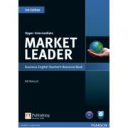 Market Leader 3rd Edition Upper Intermediate Teachers Resource Book (with Test Master CD-ROM) - Bill Mascull